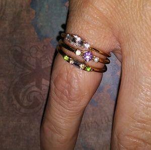 Stack 3 ring set